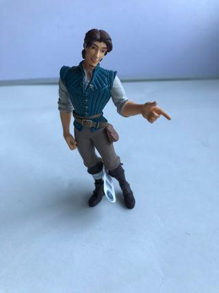 figura pvc Flynn Rider Rapunzel Disney Pixar Bully