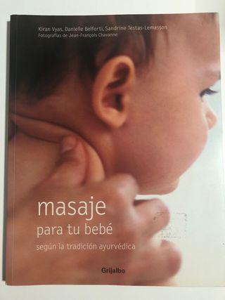 Libro de masaje ayurvedico para bebe