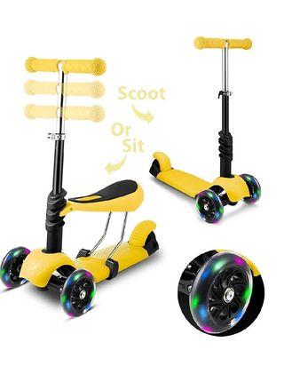 Scooter Patinete con asiento nuevo