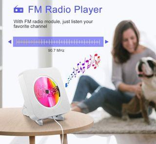 reproductor CD portátil Bluetooth radio usb aux