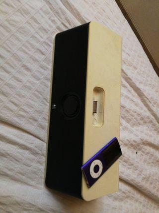 ipod nano + altavoz