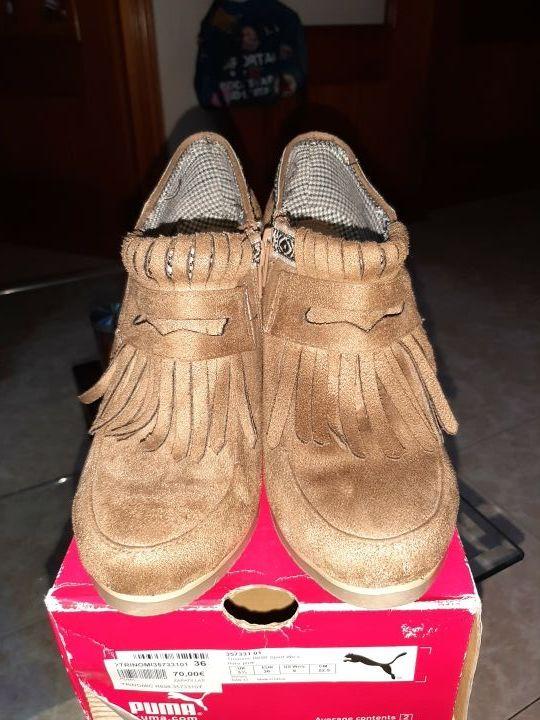 zapato de cuña