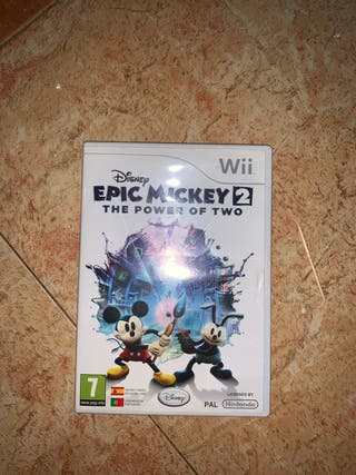 Juego Mickey WII