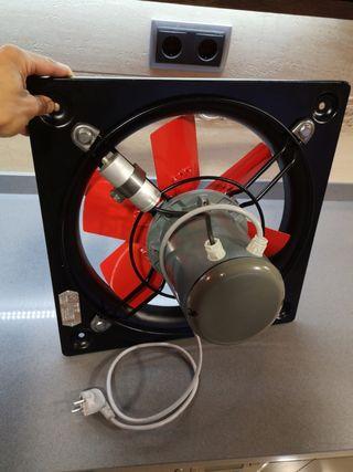 Extractor ventilador mural S&P 4/355 elice metal