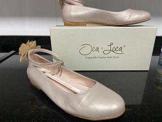 Manoletinas, bailarinas. Talla 37 color-28 taupe