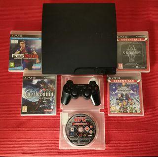 PlayStation ps3 + 12 juegos
