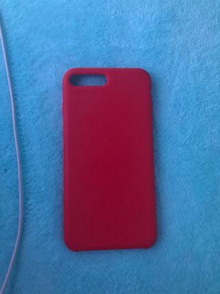 Funda Roja iphone 7/8 plus
