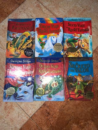 Libros Geronimo Stilton BARATOS