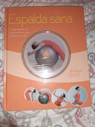 Espalda sana (incluye DVD) NUEVO PRECINTADO