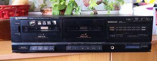 doble pletina cassette pioner