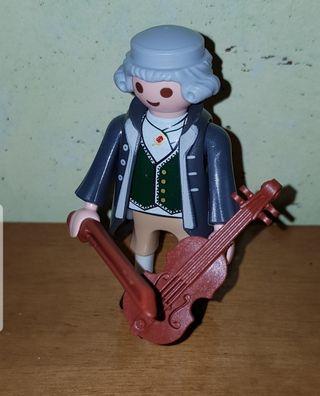 playmobil músico violín violinista victoriano boda