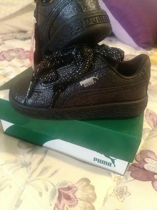 Zapatillas Puma niño talla 25 Nuevas