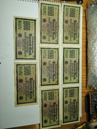 Billetes Alemanes antiguos