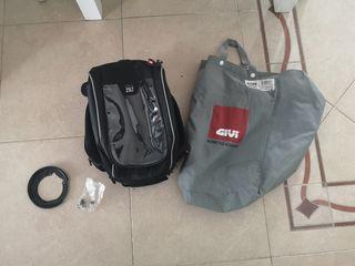 Bolsa GIVI XS306 + Soporte Kawasaki