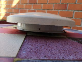 Extractor aire techo