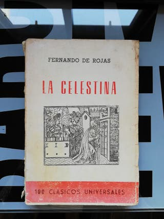 Libro antiguo: La Celestina