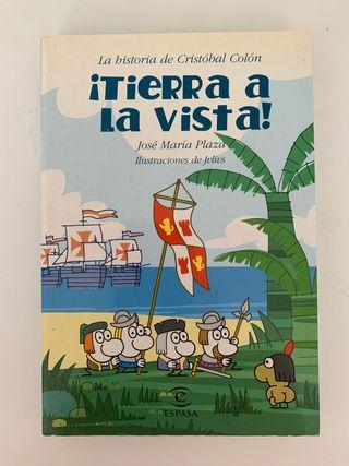 Libro Infantil Cristóbal Colón