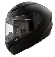 Casco moto integral shiro 870 negro mate