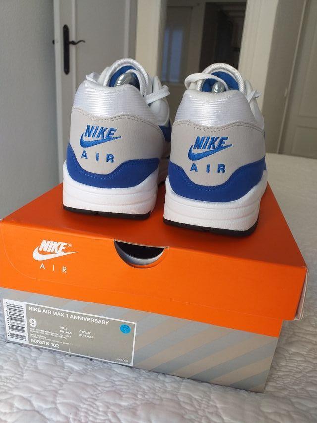 "Nike air max 1 anniversary ""Royal Blue"""