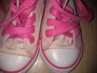 zapatillas niña número 24