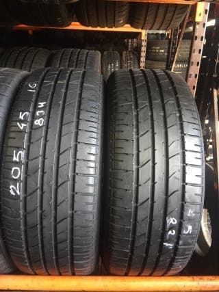 RUEDAS 205/45R16 Bridgestone EN BUEN ESTADO BARATO