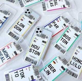 Fundas Billete de Avión iPhone