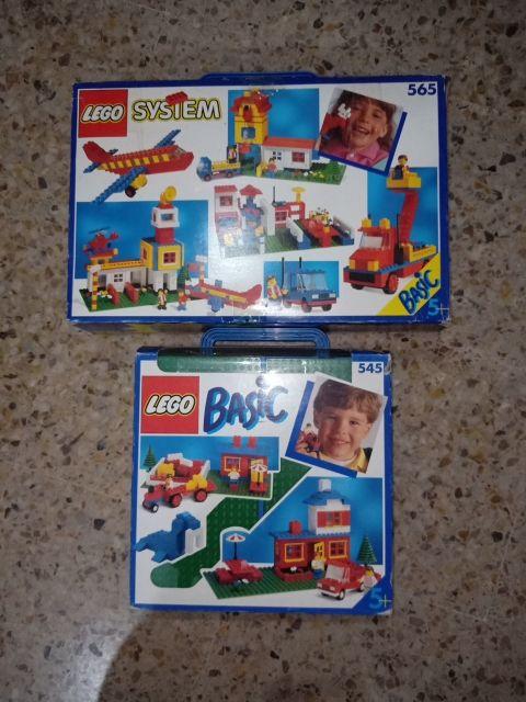 LEGO SYSTEM BASIC 565 y 545