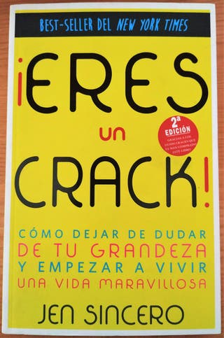 "Libro de coaching ""¡Eres un Crack!"""