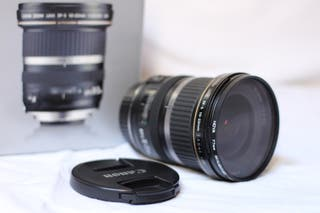 objetivo Canon 10-22 f3.5-4.5 USM