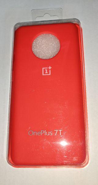 OnePlus 7T funda original roja NUEVA