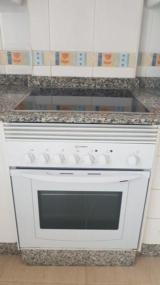 Conjunto de vitro+horno electricos