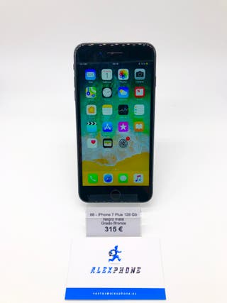 iPhone 7 Plus 128 Gb Negro + GARANTIA + FACTURA!