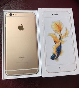 Apple IPhone 6s 16 gb oro y blanco