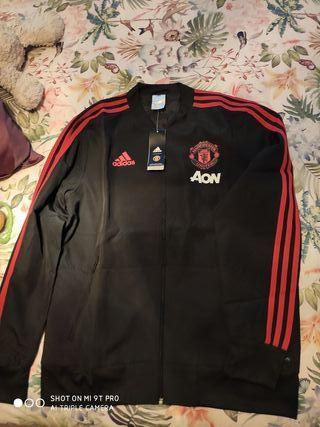 chaqueta chándal Manchester united L nueva origina