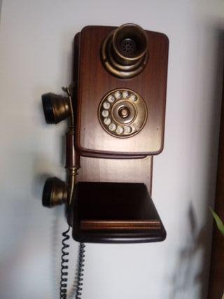 Telefono imitacion antiguo