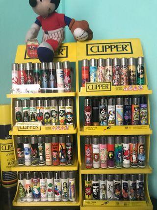 Mecheros Clipper de colección 128 Unidades
