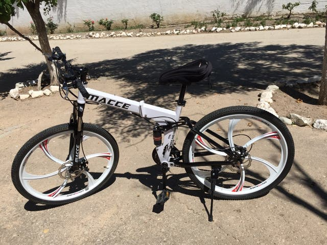 Bicicleta plegable 26'