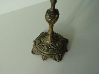Candelabro bronce muy elaborado