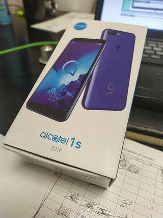Alcatel 1S 4GB 64GB Libre plateado