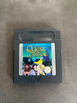 Quest for camelot game boy Nintendo