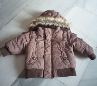 chaqueta bebe zara