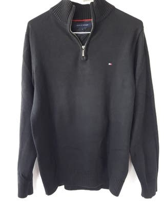 Jersey negro Tommy Hilfiger hombre talla M