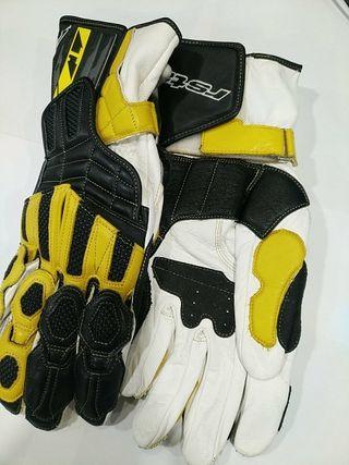 guantes rstaichi piel nuevos