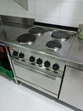 Cocina eléctrica industrial Zanussi