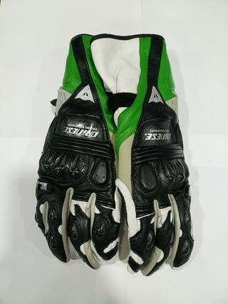 guantes dainese carbono piel