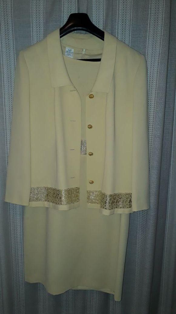 Conjunto vestido y chaqueta