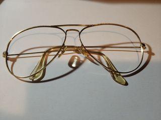 Montura gafas vintage aviador