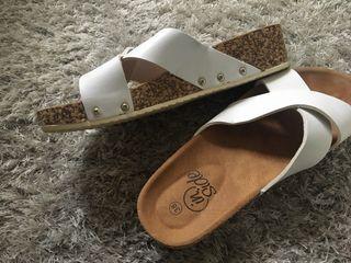 Sandalias blancas n 38