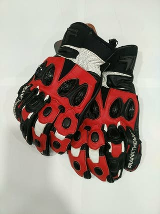 guantes frank thomas piel nuevos