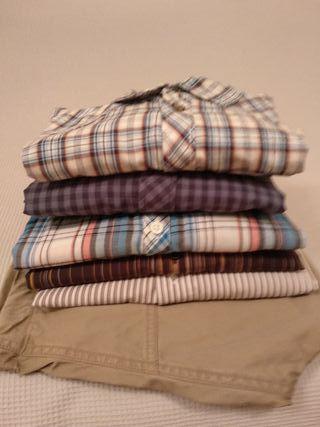 camisas de hombre.